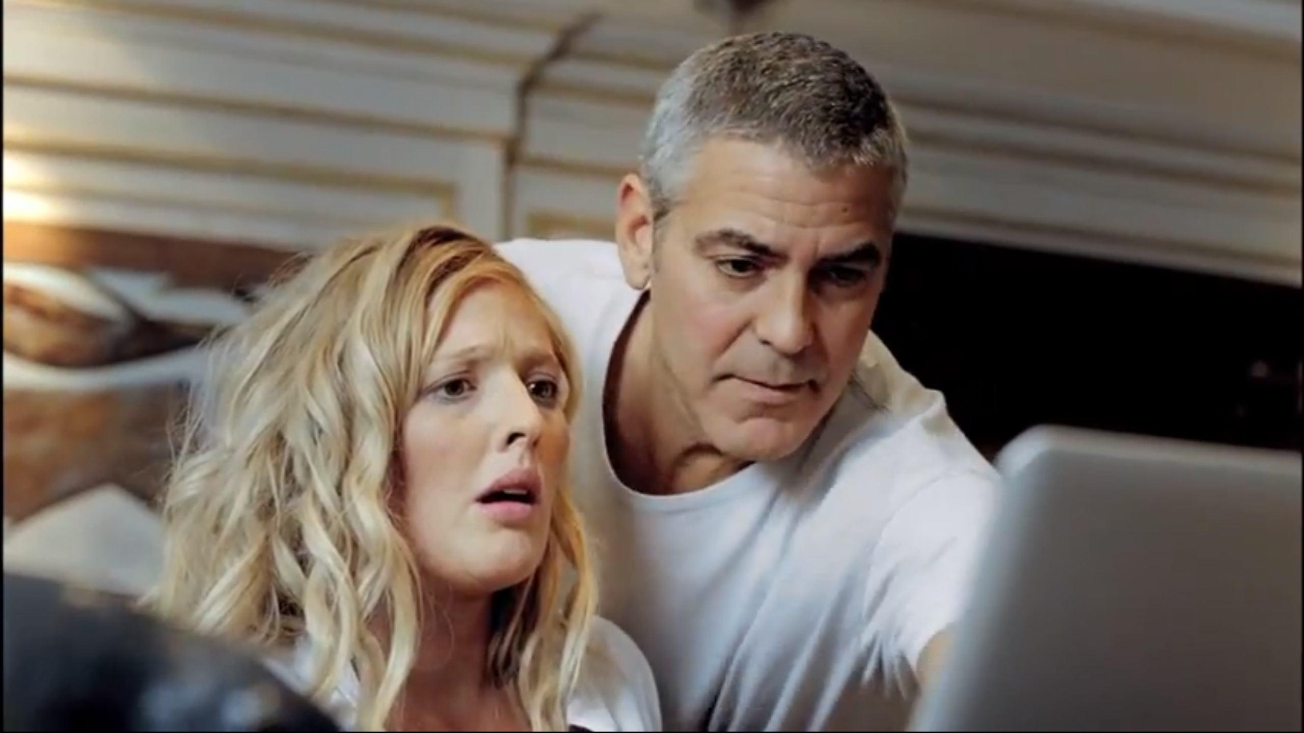 Nordmenn elsker å bli lurt av George Clooney (skjermdump:DnB NOR-reklame)