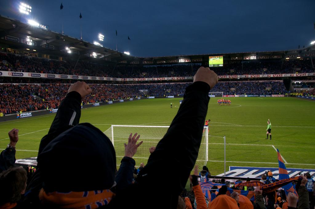 BEST I NOE: Aafk hadde også den fineste stadion i Adecco-ligaen for noen år siden (foto:flickr.com/seenful)